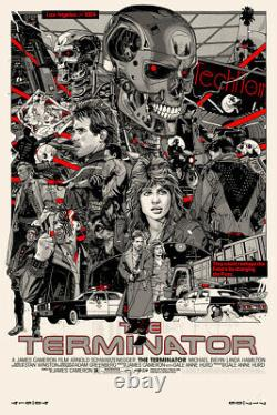 Tyler Stout THE TERMINATOR Variant Edition SOLD OUT not MONDO Signed