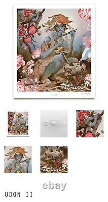 Udon II Giclee Print By James Jean Art Signed #219/627 Sold Out