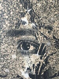 VHILS Subsume #1 print Limited Edition Sold Out 21/80