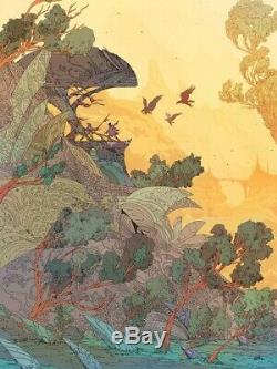 Valley Outpost by Kilian Eng Sold Out Limited Edition Print