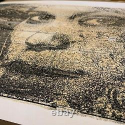 Vhils Edition 1/20 Hand Finished'Peroxide' Signed/Numbered Sold Out in Seconds