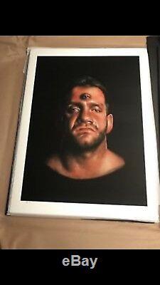 Westside gunn Chris Benoit by Isaac Pelayo 18x24 Original Artwork Print Sold Out
