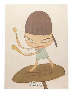 YOSHITOMO NARA Marching on a Butterbur Leaf (2019) Print sold out! Kaws banksy